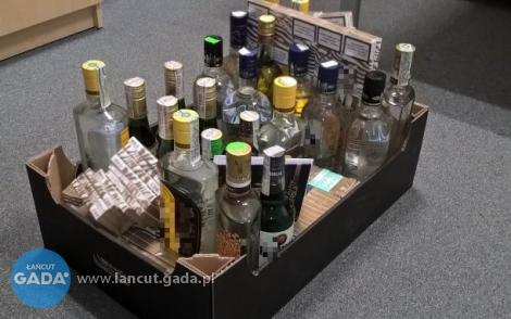 Handlował nielegalnym alkoholem
