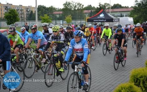 Załamanie pogody na Łańcuckim Maratonie Rowerowym.