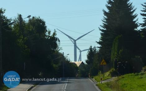 Zakaz budowy przy wiatrakach
