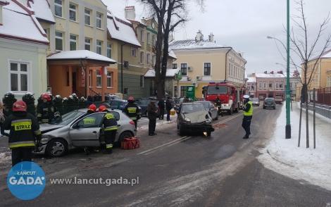 Wypadek na ul. Mickiewicza