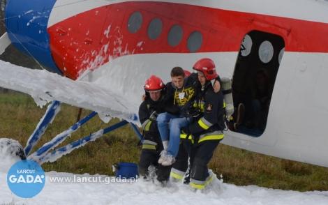 Wypadek samolotu wCzarnej