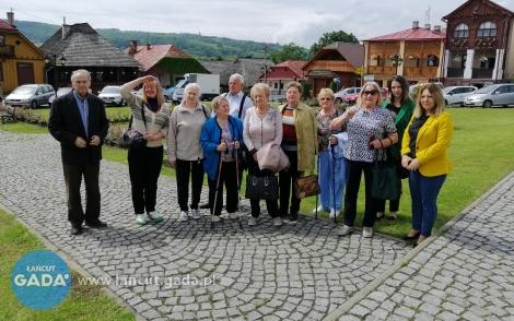 Aktywna wycieczka seniorów
