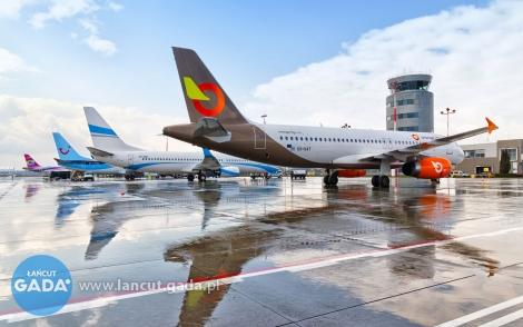 Lotnisko wJasionce znów na rekordowym poziomie