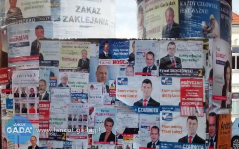 Wyborcza wojna plakatowa