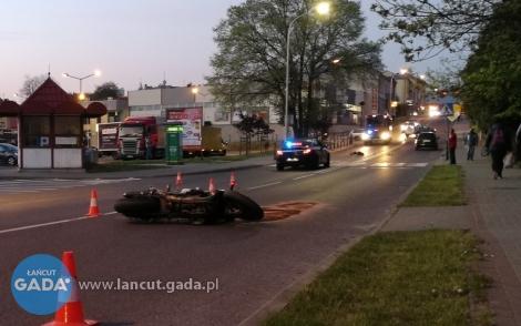Ciężko ranny motocyklista