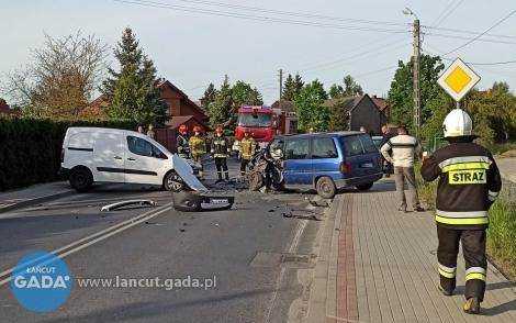Czołowe zderzenie, nikt nie został ranny