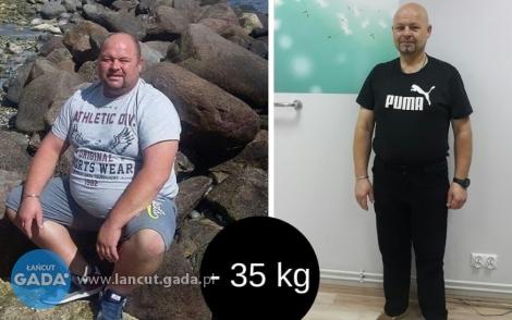 Grzegorz schudł 35 kg zProjekt Zdrowie
