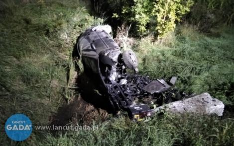 Groźny wypadek na DK94