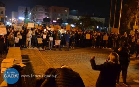 Protestowano wŁańcucie