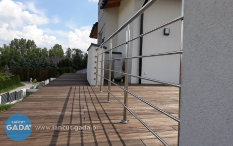 Nowoczesne itrwałe balustrady