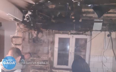 Pożar zniszczył dom