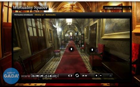Wirtualny spacer po łańcuckim zamku