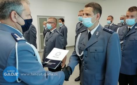 Święto Policji włańcuckiej komendzie