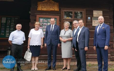 Minister Kwiatkowski wMarkowej