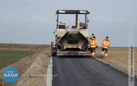Przebudowa odcinka drogi Markowa - Kosina zakończona