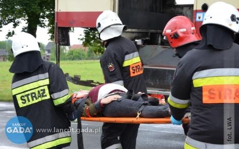 """""""Katastrofa drogowa"""" wBiałobrzegach"""