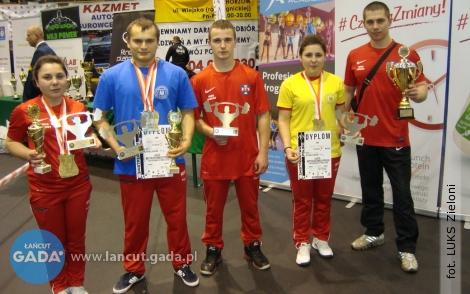 Rekordy Polski i13 medali dla reprezentantów Łańcuta