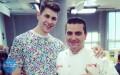 Bartek Boratyn zrobił tort dla mistrza świata cukiernictwa