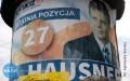 Wisielcze skutki wyborów: mandaty za wyborcze plakaty nie odstraszają