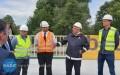 Minister wizytował przebudowę DK94