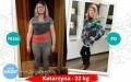 Kasia schudła 22 kg zProjekt Zdrowie Łańcut