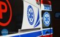 Czołowe zderzenie, trzy ranne osoby